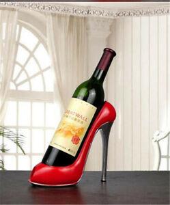 Details About Heel Shoe Shape Wine Bottle Holder Creative Shelf Rack Bar Accessory