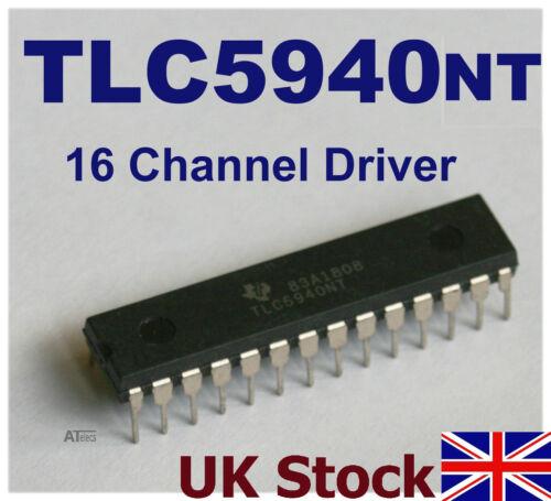 TLC5940NT 16 Channel Led Pwm Motor Schrauber TLC5940 Arduino Pic Raspberry Pi
