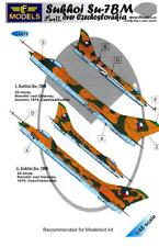 LF Models Decals 1/48 SUKHOI Su-7BM Over Czechslovakia Part 2