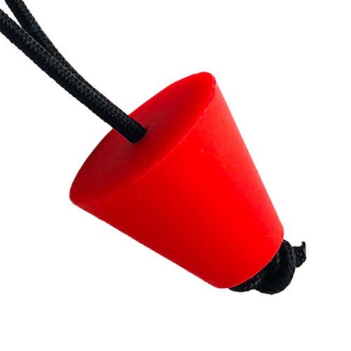 4pcs-Set Kayak Scupper Plugs Wasserablauf Stöpsel Set