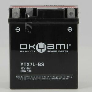 Batteria-Okyami-Ytx7l-bs-PROMO-SPEDIZ