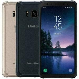 New-Samsung-Galaxy-S8-Active-G892A-G892U-64GB-T-Mobile-AT-amp-T-Sprint-Black-Blue