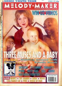 F5 FRAMED MELODY MAKER COVER PAGE 15X11034 17101992 THREE MUSES AND A BABY - Peterborough, United Kingdom - F5 FRAMED MELODY MAKER COVER PAGE 15X11034 17101992 THREE MUSES AND A BABY - Peterborough, United Kingdom