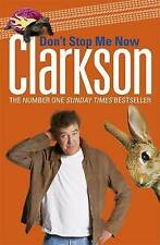 Don't Stop Me Now, Jeremy Clarkson, Hardback Book