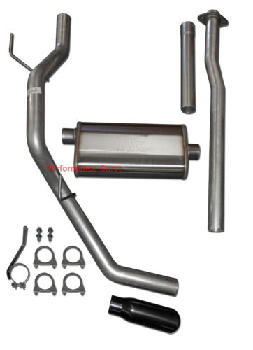 """3/"""" Cat-back Exhaust Fits 09-14 Ford F150 4.6 5.0 5.4 w// 22/"""" MagnaFlow Muffler"""