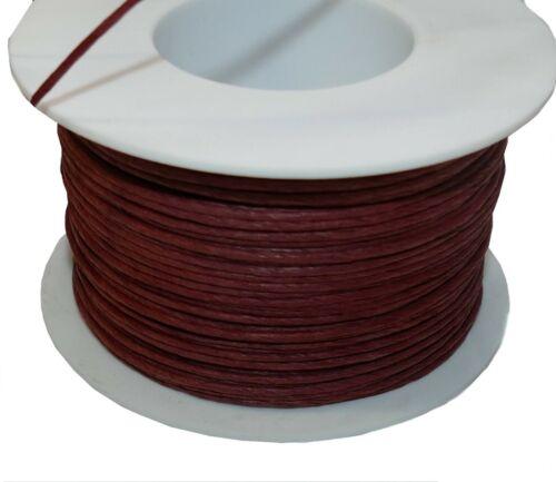 10m Drahtkordel Kordel Papierdraht Papierkordel braun rotbraun rot 0,20 €//m