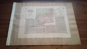 1880 Valverde y Alvarez, Mapa de la Provincia de La Coruña Galicia (Spain Map)