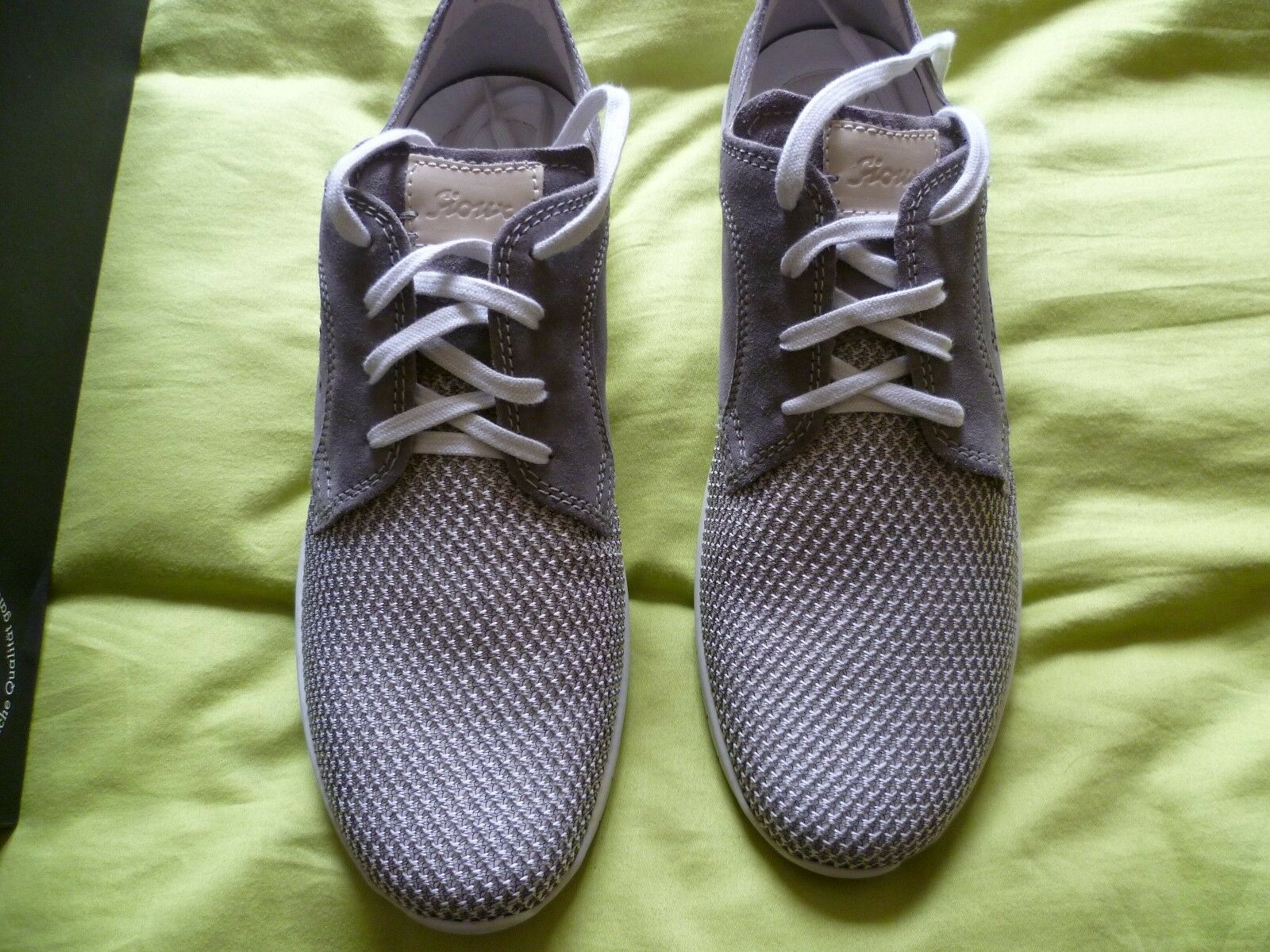 MENS SIOUX HEIMITO-700 SHOES IN GREY SIZE 9.5