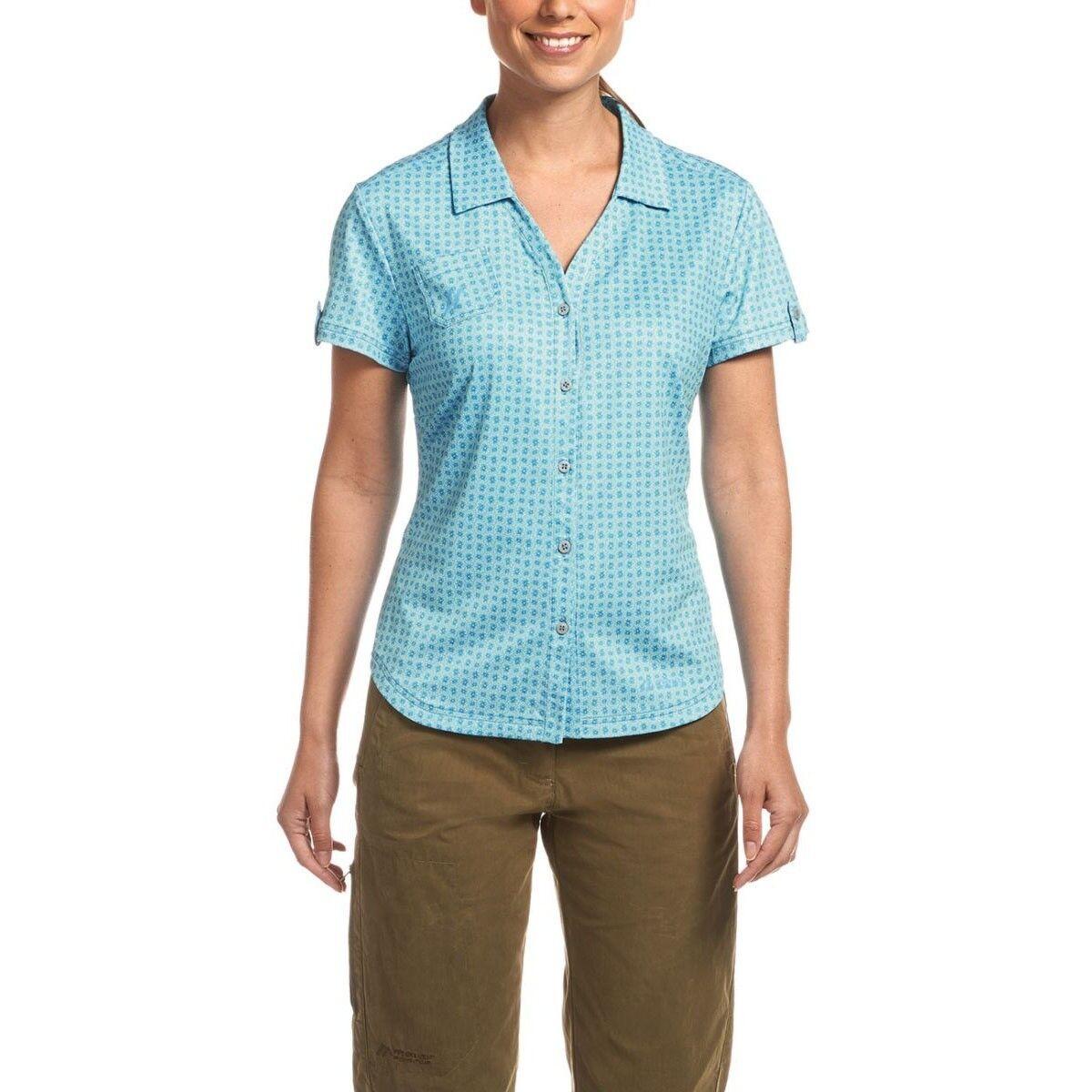 Maier Sports Lleyn Camicia da donna Blu