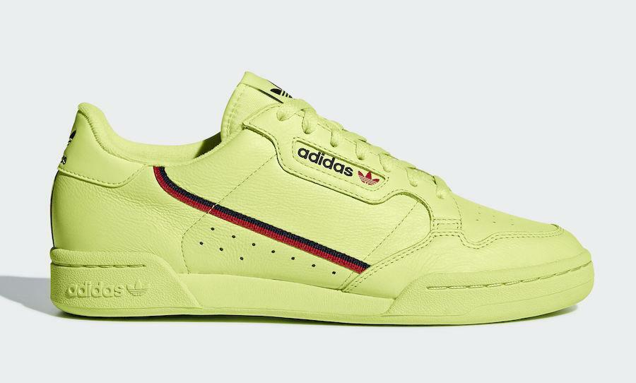 Mens Frozen Adidas Continental 80 Semi Frozen Mens Yellow Scarlet Red Collegiate Navy B41675 64de48
