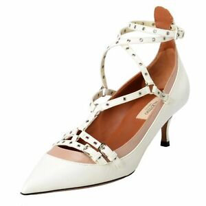 Ankle Strap Kitten Heel Shoes