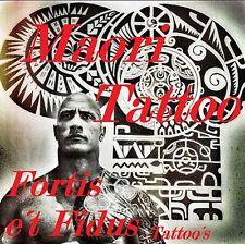 Tattoovorlagen  Flash Cd Motive Dvd Maori/Polynesian-the Rock Neu 100% Original