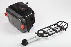 ibera fahrrad gep cktr ger f r sattelstange mit abnehmbarer tasche neu ebay. Black Bedroom Furniture Sets. Home Design Ideas
