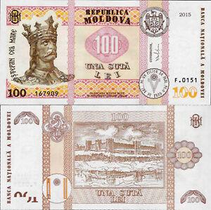 Moldova 2015-500 lei Pick 27 UNC