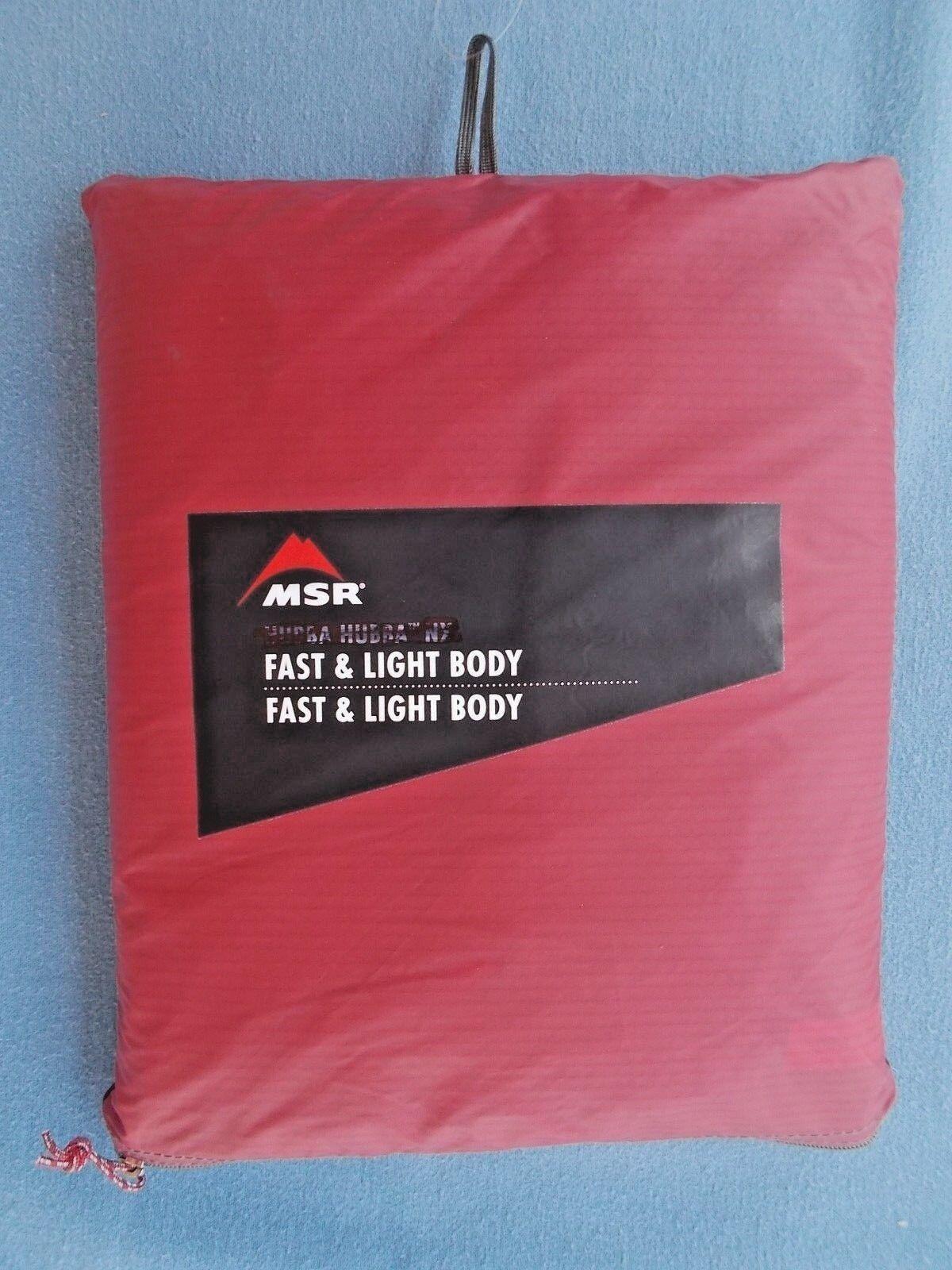 MSR Hubba Tour 2 Fast & Light Series Tent Body