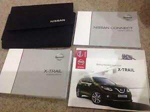 nissan x trail handbook owners manual wallet t32 2013 2017 inc sat rh ebay co uk Nissan X-Trail 2010 Nissan X-Trail Diesel Engine