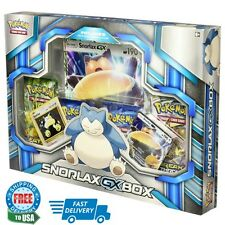 Pokemon TCG: Snorlax GX Box Card Game Includes 4 Pokémon Booster Packs