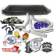 For 98-05 VW Golf  Jetta GTI 1.8T Bolt on T3/T4 Turbo Kit+Oil Cooler Kits