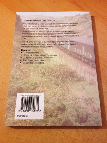 Tenth Edition Railway Combined Locomotive Train Book Loco Fleet List Ten