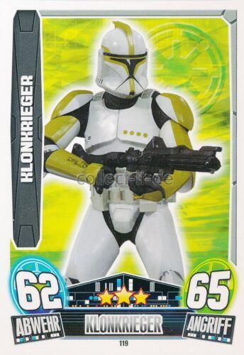 Force Attax Movie Cards 3 119-KLONKRIEGER-KLONKRIEGER-la république