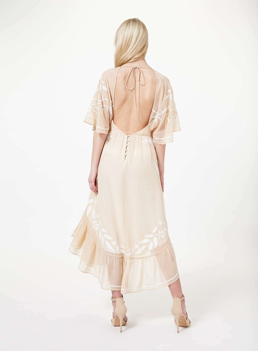 GATSBY DOWNTON 40's DRESSROMANTIC FLOATYBNWOT8-10SPECIAL OCCASION RRP