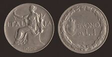 BUONO DA 1 LIRA 1922 - VITTORIO EMANUELE III