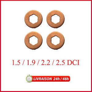 X4-Joints-Injecteur-Rondelles-Renault-1-5-1-9-2-2-2-5-dCi-Diesel-7703062072