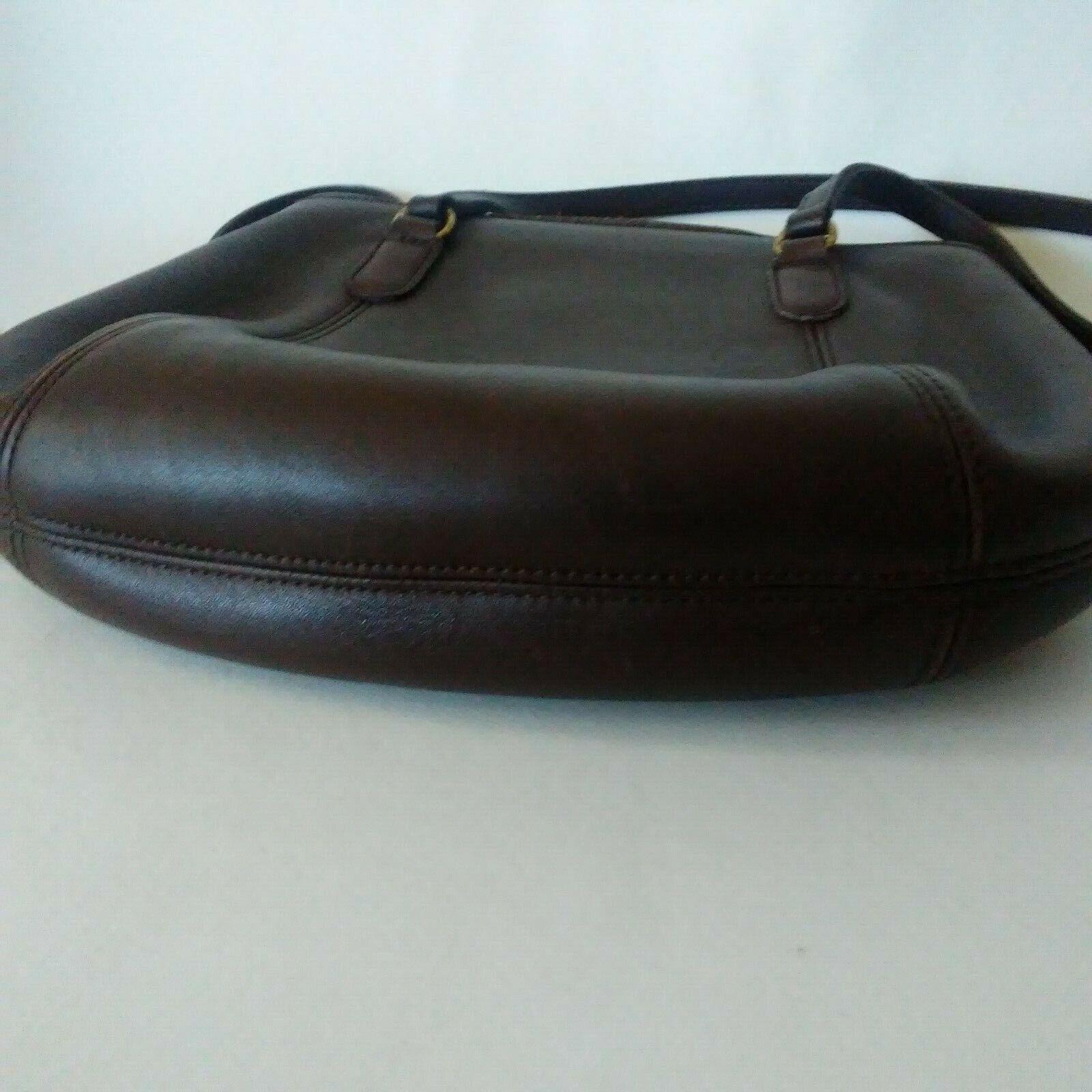 COACH Purse Handbag Leather Shoulder Brown A7C-99… - image 4