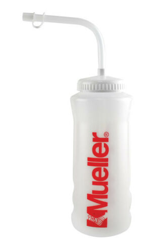 Mueller Quart Water Bottle Straw or Squeeze Cap Option
