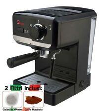 Macchina per Caffe Espresso e Cappuccino Cialde e/o macinato POMPA ITALIANA 15b