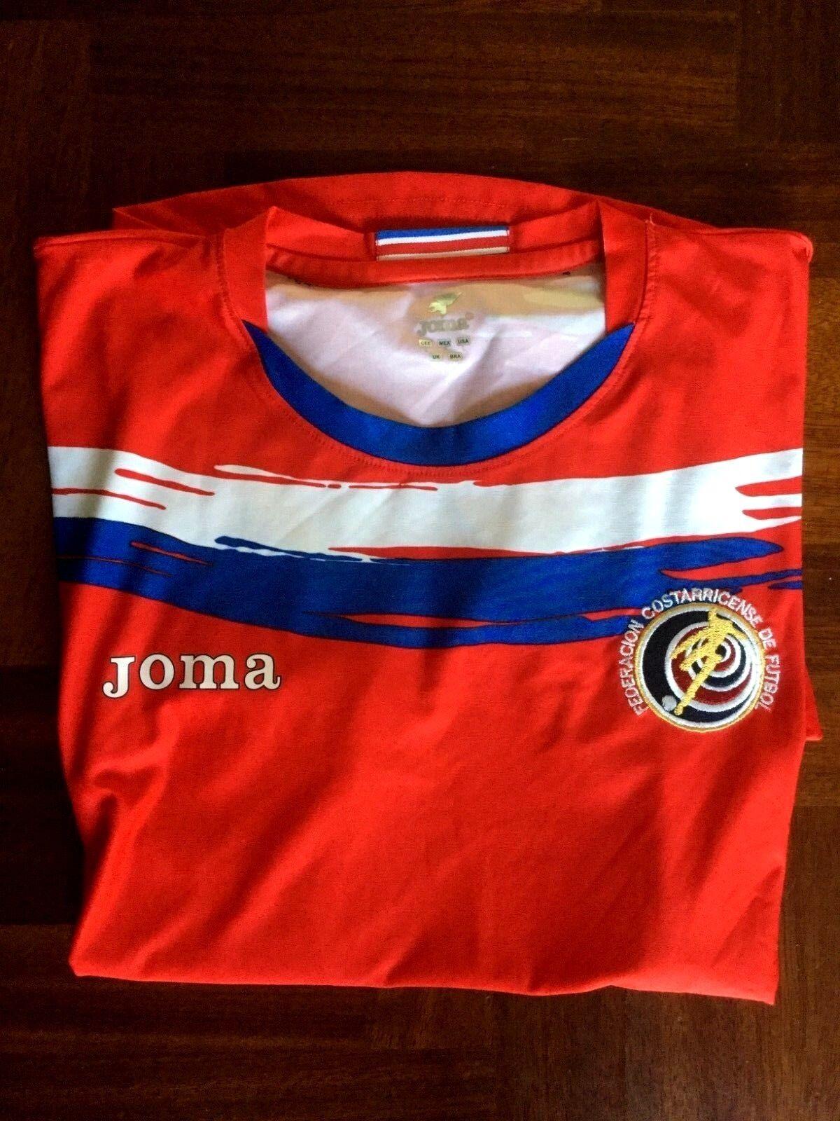 MAGLIA CALCIO JOMA COSTA RICA HOME 2006-2007 FOOTBALL SHIRT JERSEY