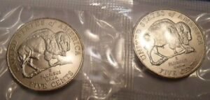 **FREE SHIPPING** 2006 P /& D JEFFERSON NICKEL SET 2 COINS