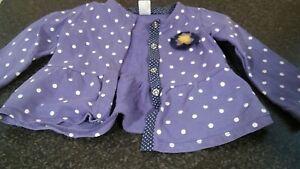 girls-age-2yrs-purple-cardigan-style-top
