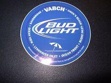 Bud Light Blue Virginia Beach Logo Budweiser Sticker Decal Craft Beer Brewing