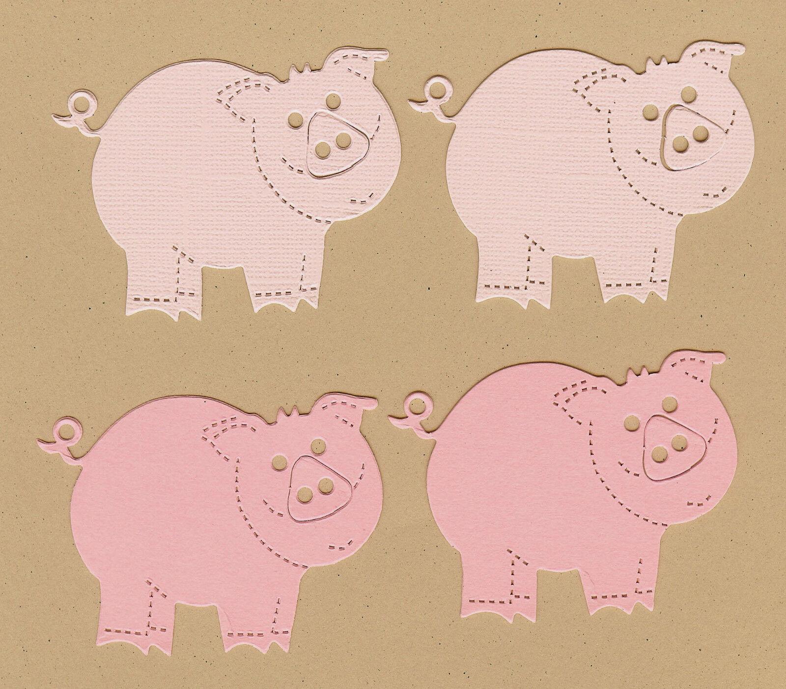 Zoo Babies-Pig Die Cuts Dayco//AccuCut
