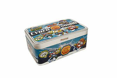 Magicbox SuperZings Rivals Of Kaboom Tin Cyber Squad PlaySet Collect Toy Gift