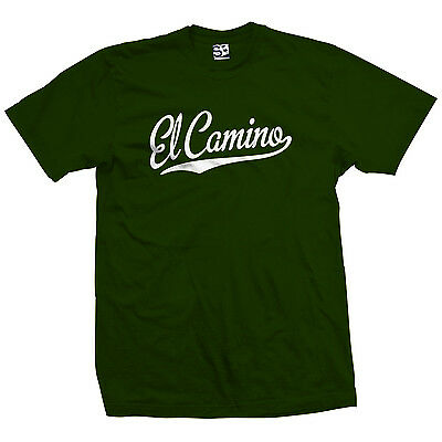 El Camino Script Tail T-Shirt - Classic Pickup Car Lowrider - All Sizes & Colors