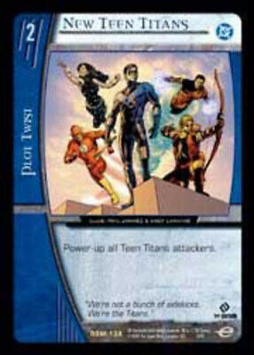 DC Superman Man of Steel T VS System: New Teen Titans Foil Moderately Played
