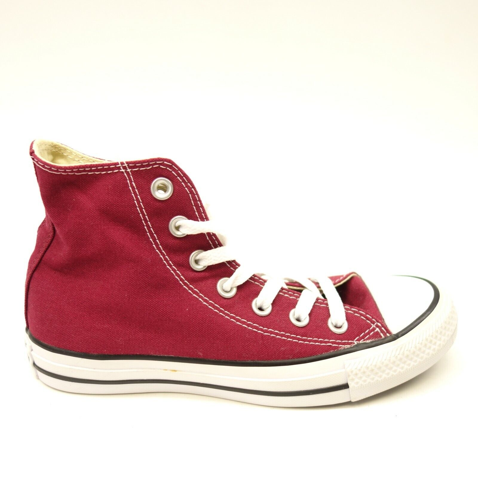 New Converse Womens Classic Maroon Chuck Taylor All Star High Top Canvas shoes 6