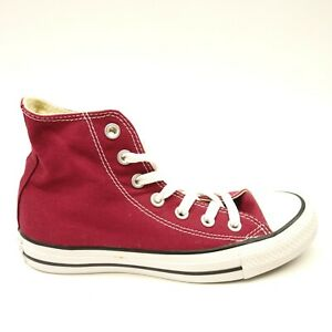 New Converse Womens Classic Maroon Chuck Taylor All Star High Top ... 5eedf28d339a