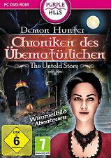 DEMON HUNTER * CHRONIKEN DES ÜBERNATÜRLICHEN * WIMMELBILD-SPIEL  PC DVD-ROM