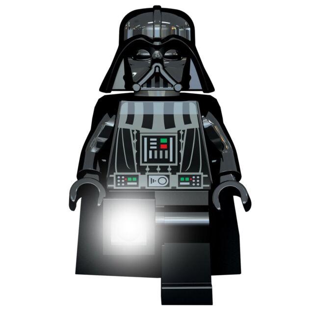 Lego Star Wars Darth Vader Torcia a Led Lato Del Letto Luce Cameretta Bambini