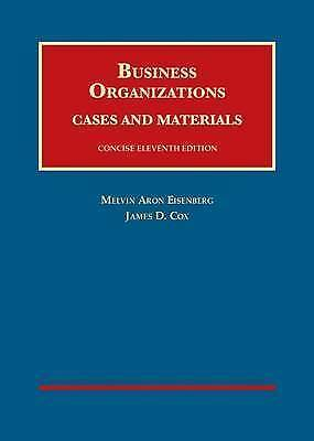 1 of 1 - Business Organizations Cases and Materials  (University Casebook) Concise Editio
