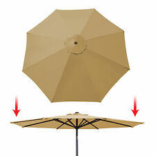 9ft 8 Rib Patio Umbrella Cover Canopy Replacement Parasol Top Outdoor