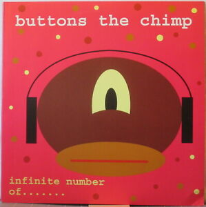 BUTTONS THE CHIMP Infinite Number Of…  MINI LP Electronica/Abstract/Breakcore