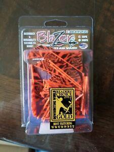 Bohning Blazers 36 Pack Orange Tiger Broadhead Vane Crossbow Certified 10831OT2