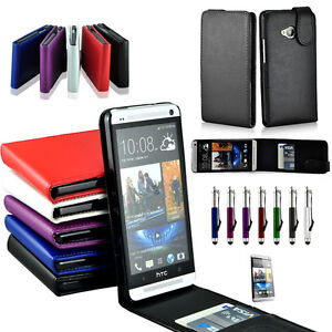 Flip-Leather-Case-Cover-For-HTC-ONE-M7-810e