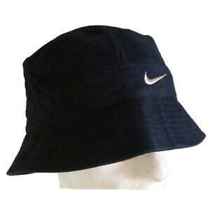 NIKE-BUCKET-HAT-CAP-DARK-BLUE-UNISEX-MENS-WOMENS-M-L-566609
