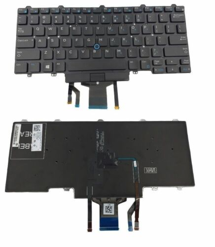 0D19TR PK1313D3B00 NEW REPLACEMENT GENUINE DELL KEYBOARD US SHIPPER E7450 GOOD