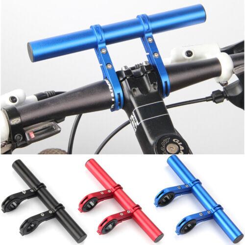 Bike Bicycle MTB Handle Bar Lamp Phone Extender Mount Extension Bracket Holder